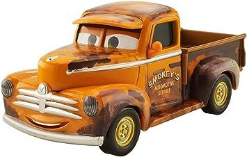 Cars 3-DXV37 Coche Smokey, (Mattel Spain DXV37): Amazon.es: Juguetes y juegos