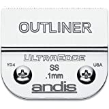 Andis 64160 UltraEdge Carbon-Infused Steel Detachable Outliner Blade.1mm Cut Length