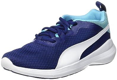 f2901dc5e5a9 Puma Unisex Kids  Pacer Evo Jr Low-Top Sneakers  Amazon.co.uk  Shoes ...