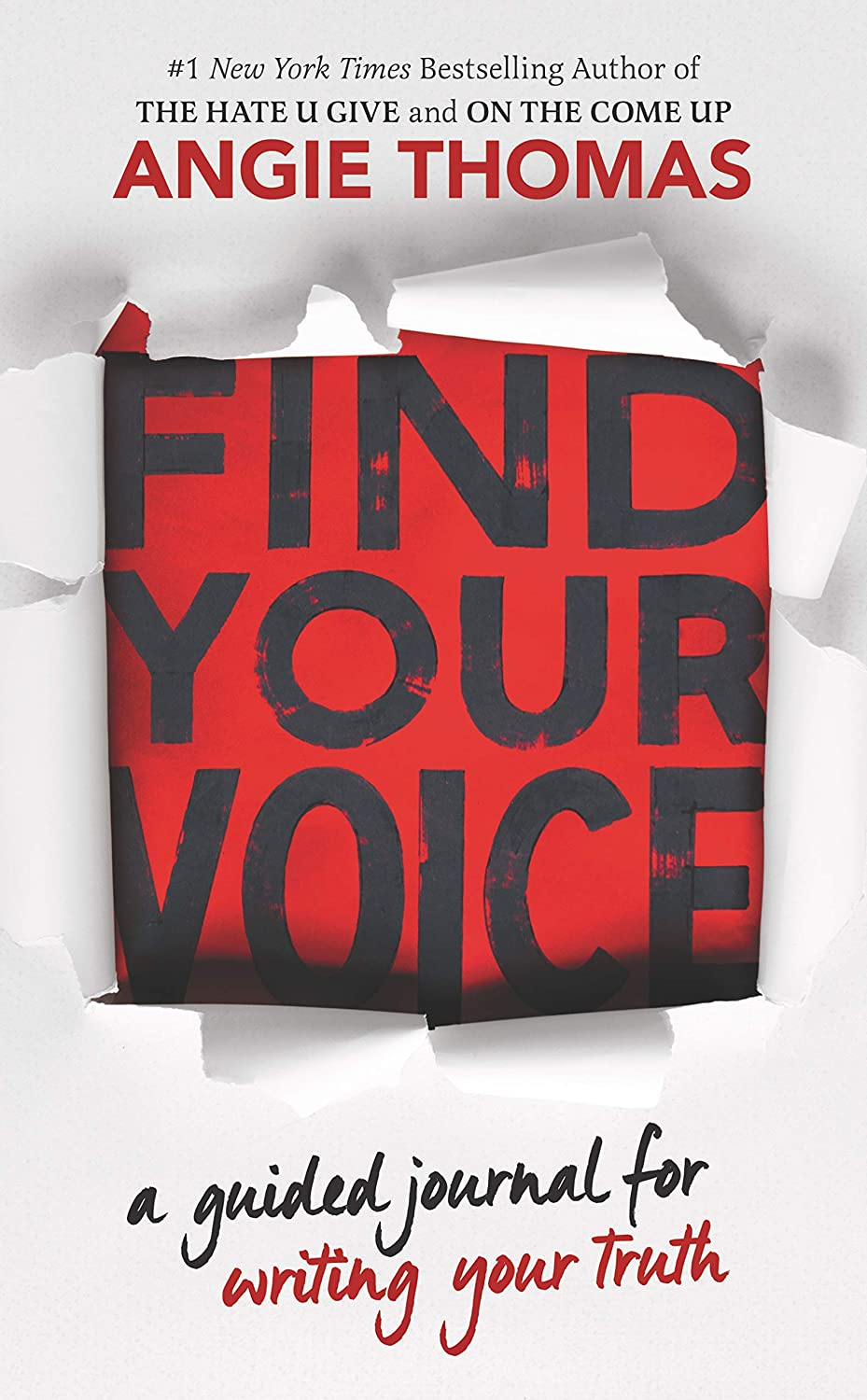 Find Your Voice - Angie Thomas Paperback -