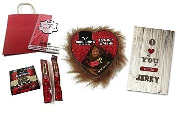 Jack Links Sasquatch (Big Foot) U0026 Beef Jerky Valentines Day Gift For Him