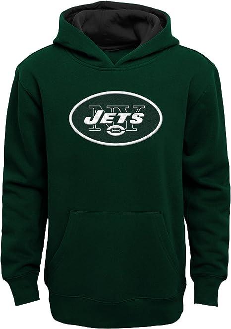 NFL Kids Team Color Polyester Performance Primary Logo Pullover Sweatshirt Hoodie