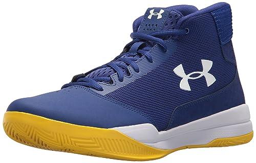 Playa Escudero Alegre  Under Armour Men's Ua Jet Mid Basketball Shoes, Black (Black/White), 6 UK:  Amazon.co.uk: Shoes & Bags