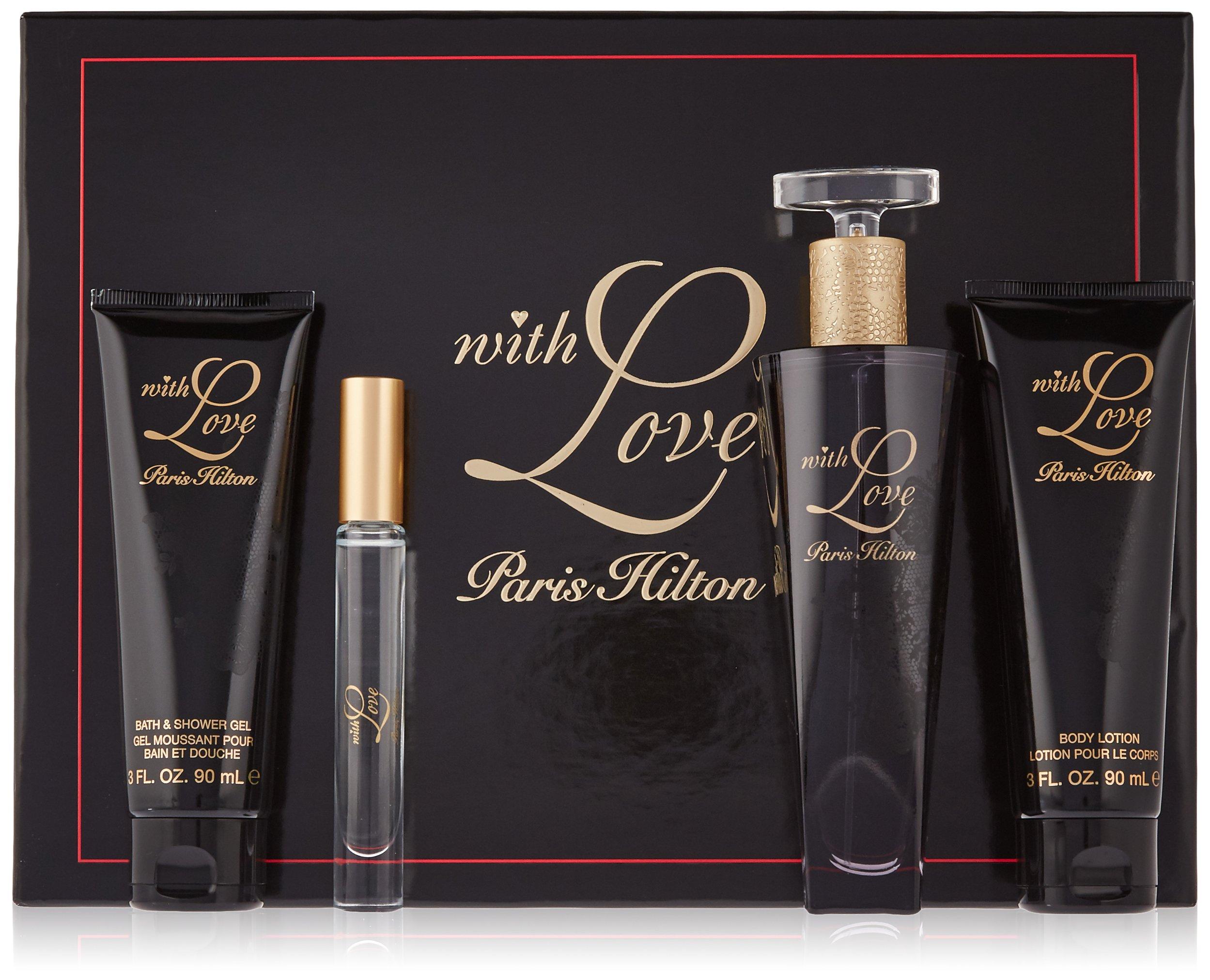 Paris Hilton with Love Women 4 Piece Gift Set by Paris Hilton (Image #1)