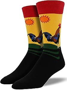 Socksmith Early Riser Morning Socks Gold Size 10-13, 1 EA