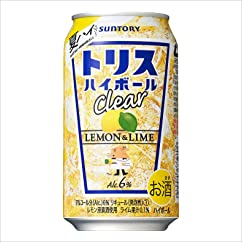 【チューハイ・カクテルの新商品】サントリー トリスハイボール缶 レモン&ライム 350ml×24本
