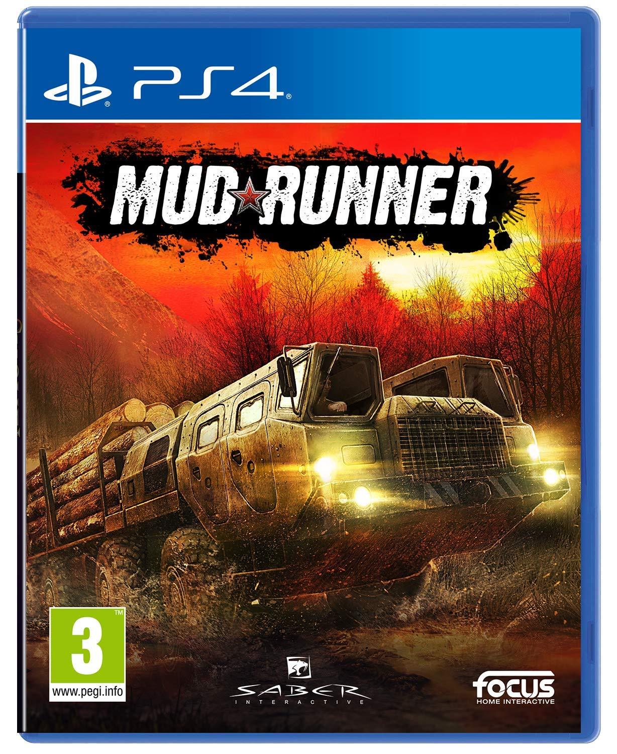 Mud runner [PS4] : a spintires game | Focus Home Interactive
