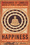 Thousands of Candles Buddha Happiness Quote Motivational Poster 12x18 inch