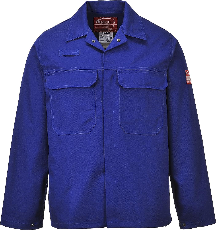 Portwest BIZ2NARXXL Bizweld Jacket Navy Size: XX-Large Regular