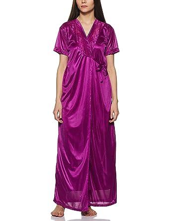 de5a97da3 Fasense Women s 6-Piece Nightdress Set  Amazon.in  Clothing ...