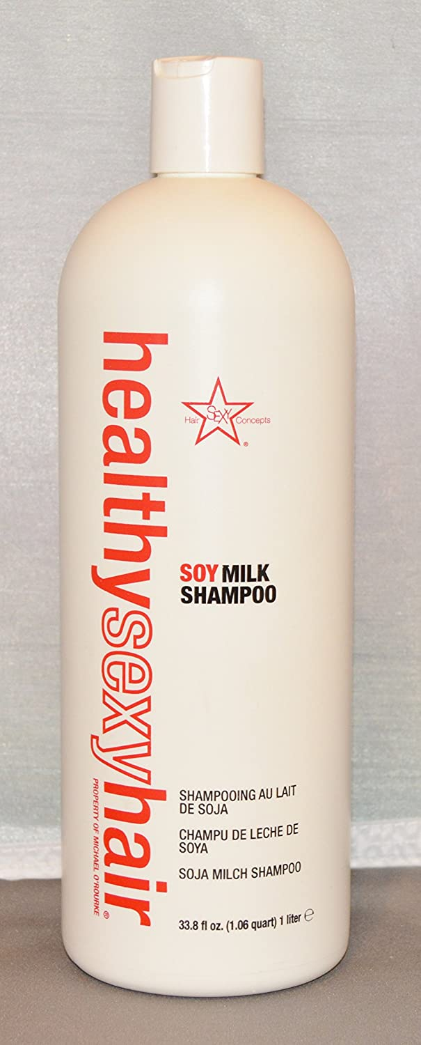 Amazon.com : Sexy Hair Healthy Sexy Hair Soy Milk Shampoo Original 33.8 oz : Beauty