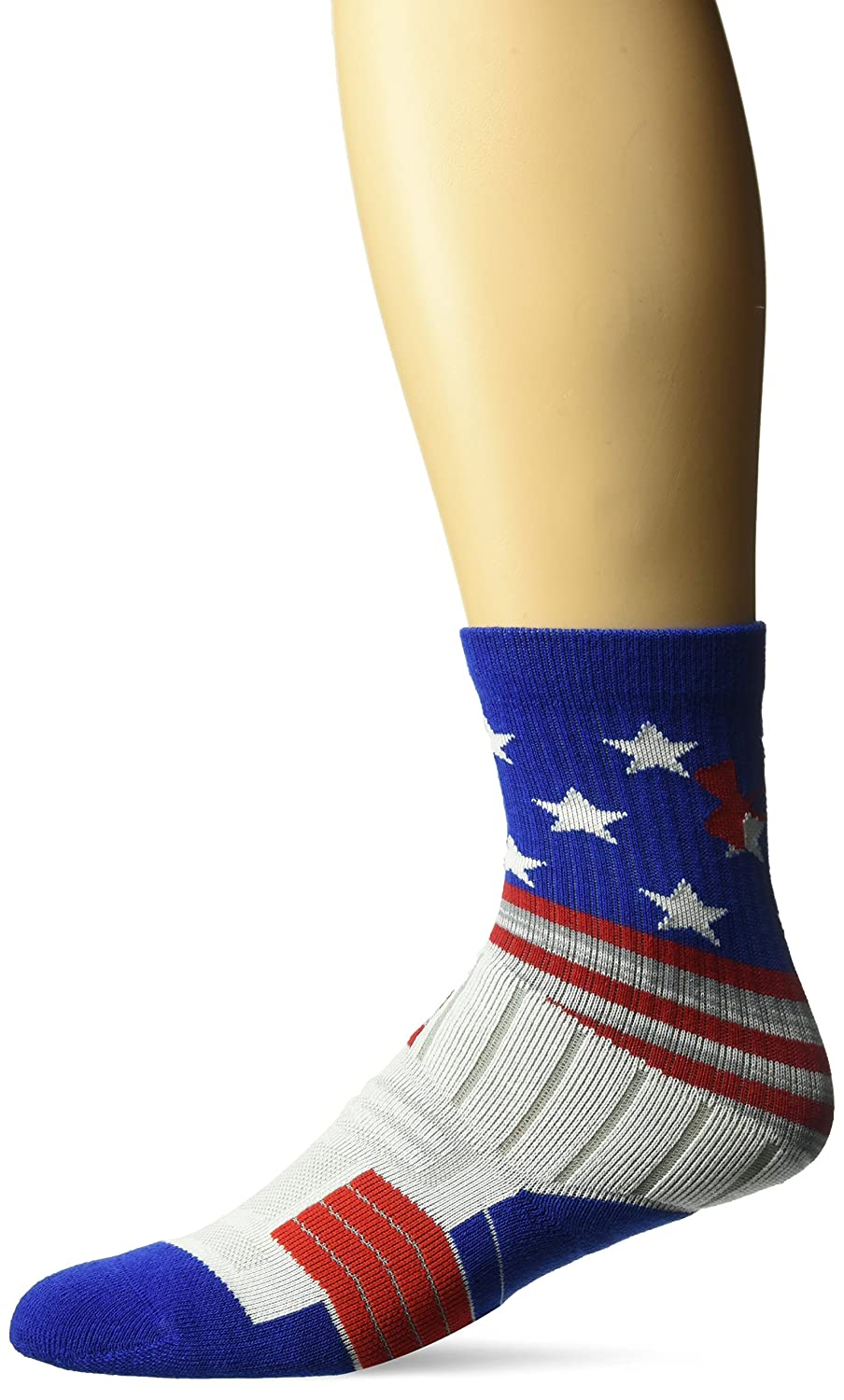 Under Armour Unrivaled Stars & Stripes Youth Crew Single Socks Black Youth Large Under Armour Socks U381B