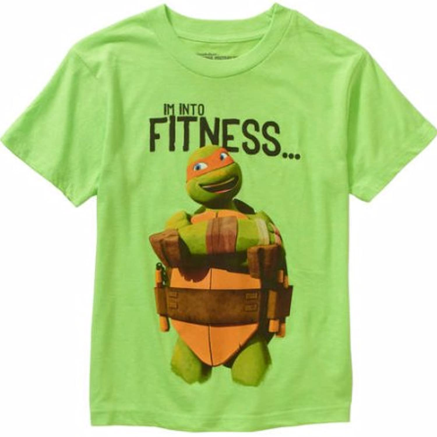 new Teenage Mutant Ninja Turtles Into Fitness Boys Graphic Tee Size 18 big discount
