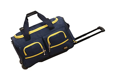 Image Unavailable. Image not available for. Colour  Rockland Rolling Duffle  Bag 31c557d87b65e
