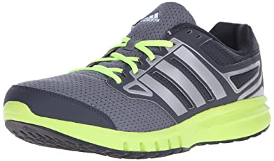Adidas Performance Men's Galactic Elite M Running Shoe,Dark Grey/Solar  Yellow/Iron