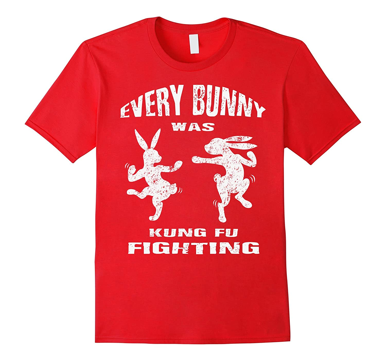 Every Bunny was Kung Fu Fighting Funny Easter Shirt Classic-TH