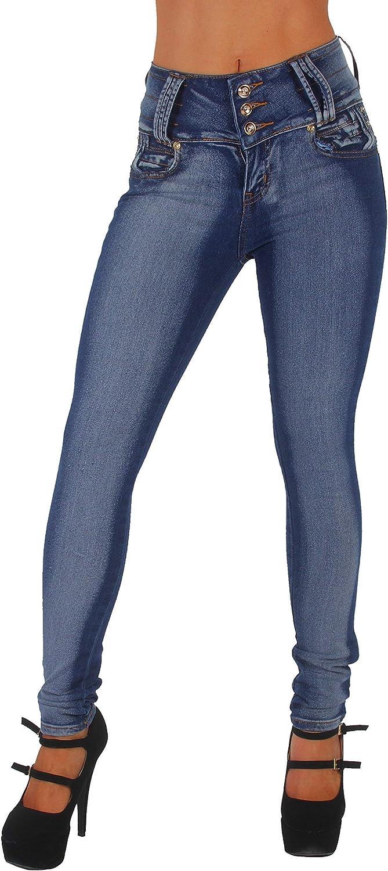 Colombian Design Mid Waist Butt Lift Plus//Junior Size Skinny Jeans