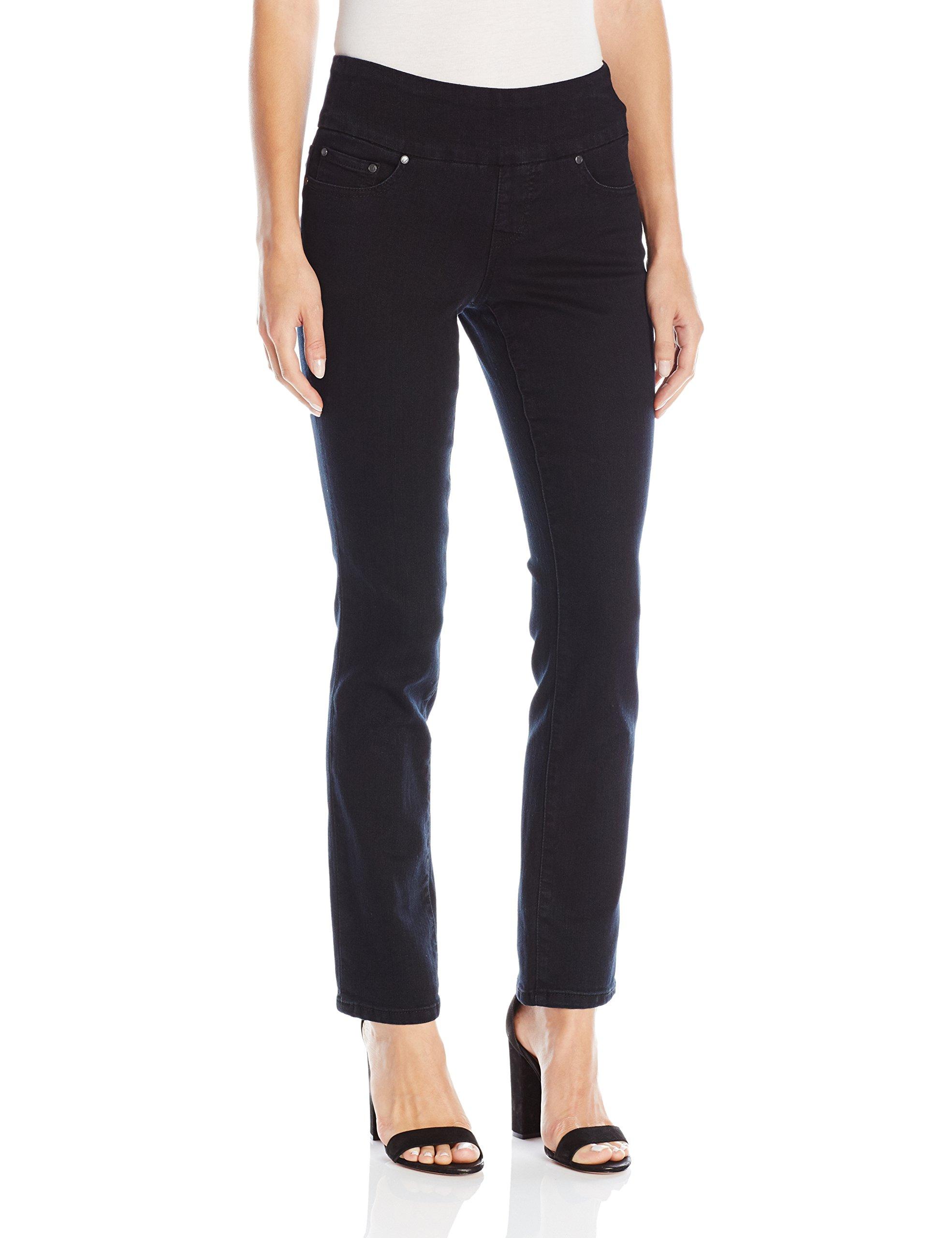 Jag Jeans Women's Petite Peri Straight Pull on