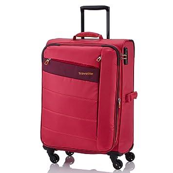 Travelite-Maletín con ruedas para ordenador portátil, rosa (Rosa) - 2077034: Amazon.es: Equipaje