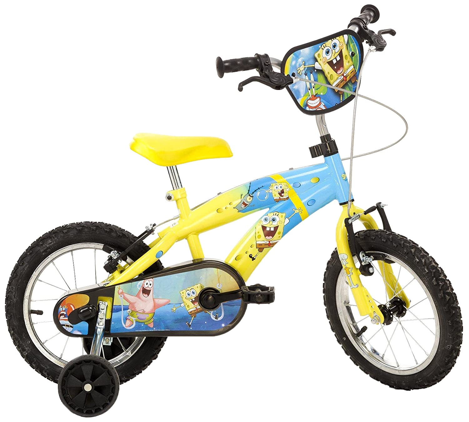 dino bikes 14 inch spongebob squarepants children u0027s bike amazon