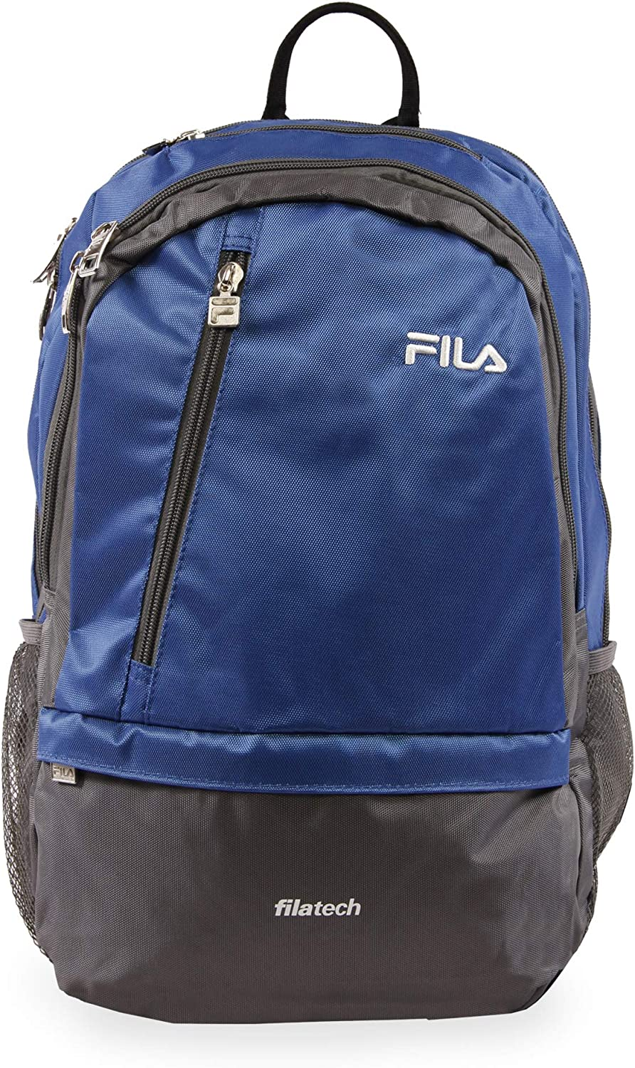 Fila Duel Tablet and Laptop Backpack, Blue, One Size