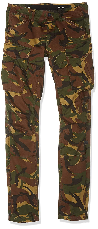 TALLA W35/L38 (Talla del fabricante: 3538). G-STAR RAW Rovic 3D Straight Tapered Pantalones para Hombre