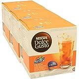 Nescafé Dolce Gusto Nestea Eistee Pfirsich, 3er Pack, 3 x 16 Kapseln