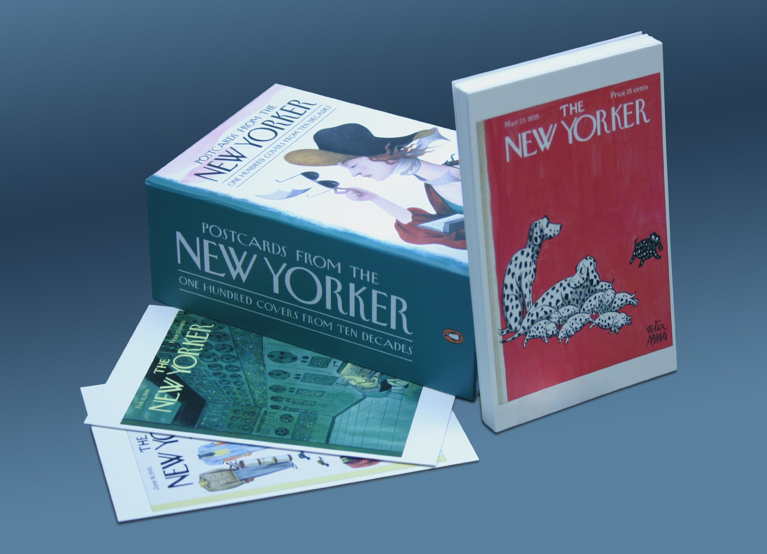 Postcards from the New Yorker: One Hundred Covers from Ten Decades by Penguin Books (Image #6)