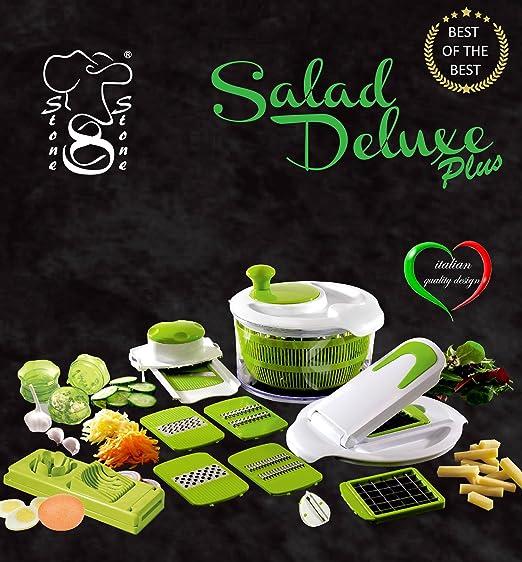 65 opinioni per Salad Delux Plus Insalatiera Taglia Verdure visto in Tv Affettatutto /