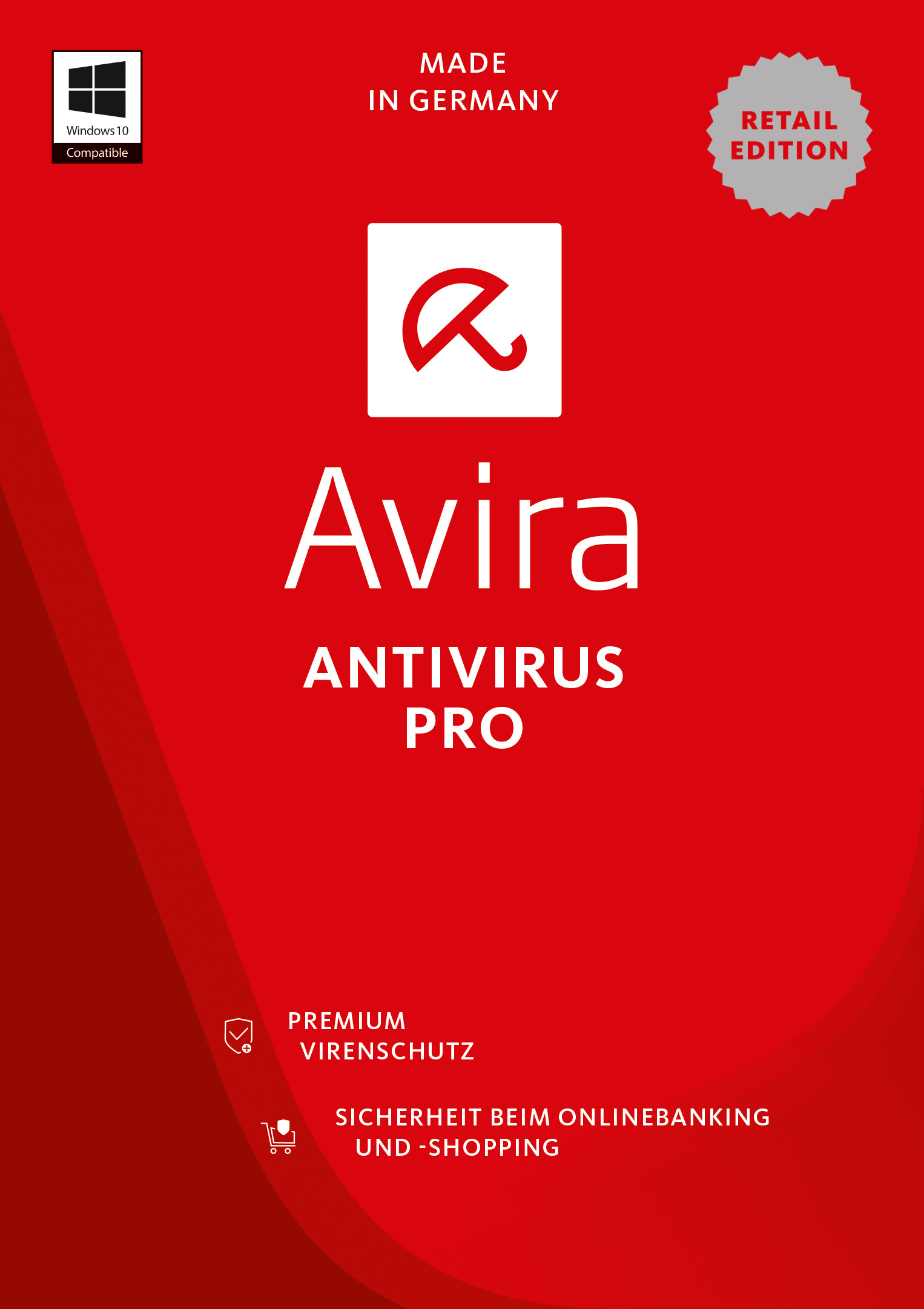 Avira Antivirus Pro 2017  - 2 Geräte / 1 Jahr [Online Code]