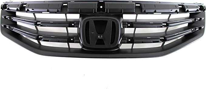 CarPartsDepot Grill Grille Assembly New Replacement Sedan 4-Dr 400-201693 HO1200203 71121TA0A11