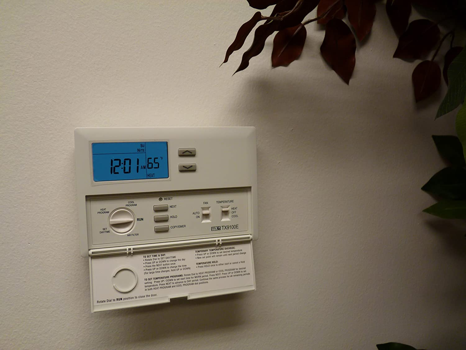 81HybGgfhbL._SL1500_ lux tx9100e 7 day universal programmable thermostat locking  at bakdesigns.co