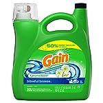 Gain Liquid Laundry Detergent +aromaboost, Blissful Breeze, 96 Loads 1.47 Liter