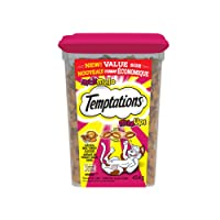 Temptations Mix-Ups Treats for Cats - Chicken - Turkey - Beef - 454g