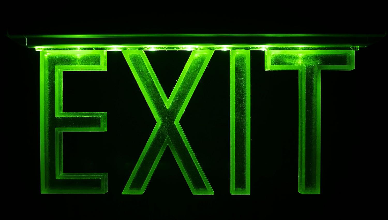 D'urgence Lampe é clairage d'urgence Exit sortie de secours fuite Lampadaire Lumiè re d'urgence fuite voie 8 LED Atra