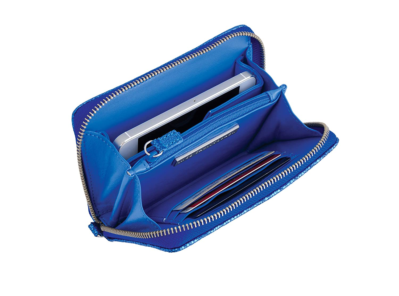 Inge Christopher handledsrem plånbok Matte Blue