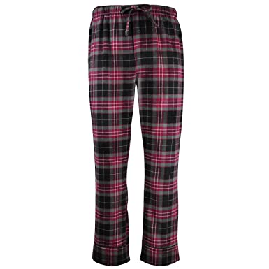 1e472ea1f12 FABIO VIOLA Men s Cotton Flannel Plaid Soft Lounge Sleep Pajama Pants with  Pockets Size Big and Tall