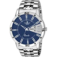 Swisso Formal Analogue Blue Dial Men's Watch