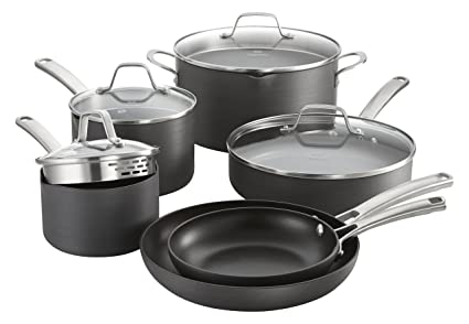10ab925ed30 Image Unavailable. Image not available for. Color  Calphalon Classic  Nonstick Cookware Set