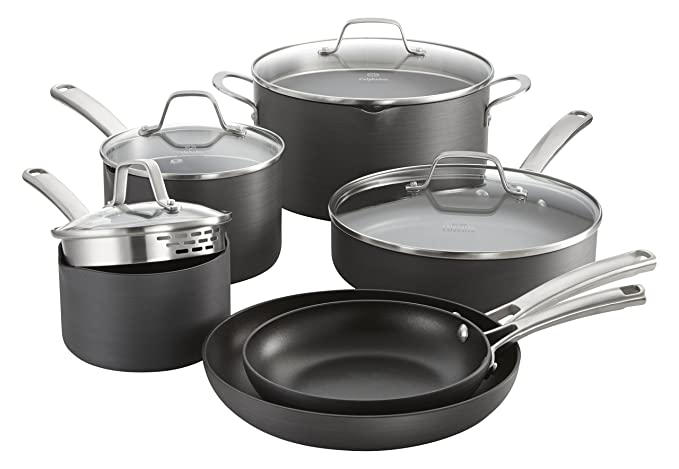 5. Calphalon Classic Cookware Set