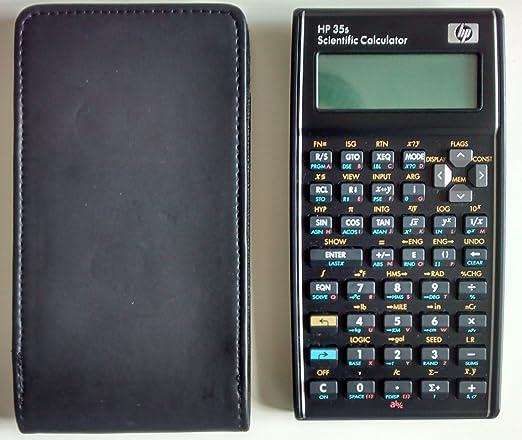 25 opinioni per HP 35S Calcolatrice Scientifica, Nero
