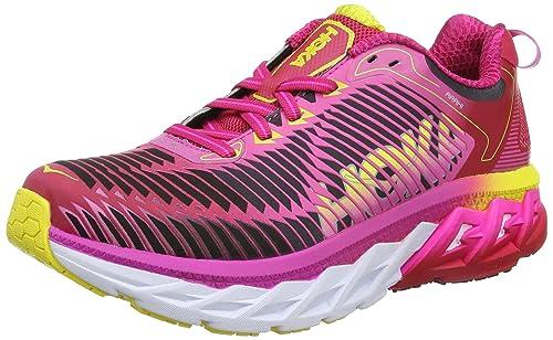 Hoka One One Women's Arahi Running Shoes, Pink (Virtual Pink/Neon Fuchsia)