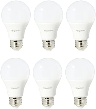 Amazonbasics 60 Watt Equivalent Soft White Non Dimmable A19 Led