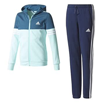adidas Hooded Mädchen Trainingsanzug