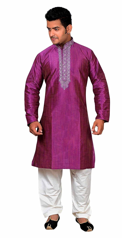 Juego de pijama para fiesta de Sherwani Kurta salwar kameez de ...