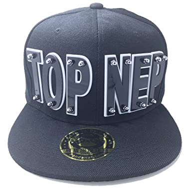 a43deaddcd3 Amazon.com  TOP NEP HAT IN BLACK  Clothing