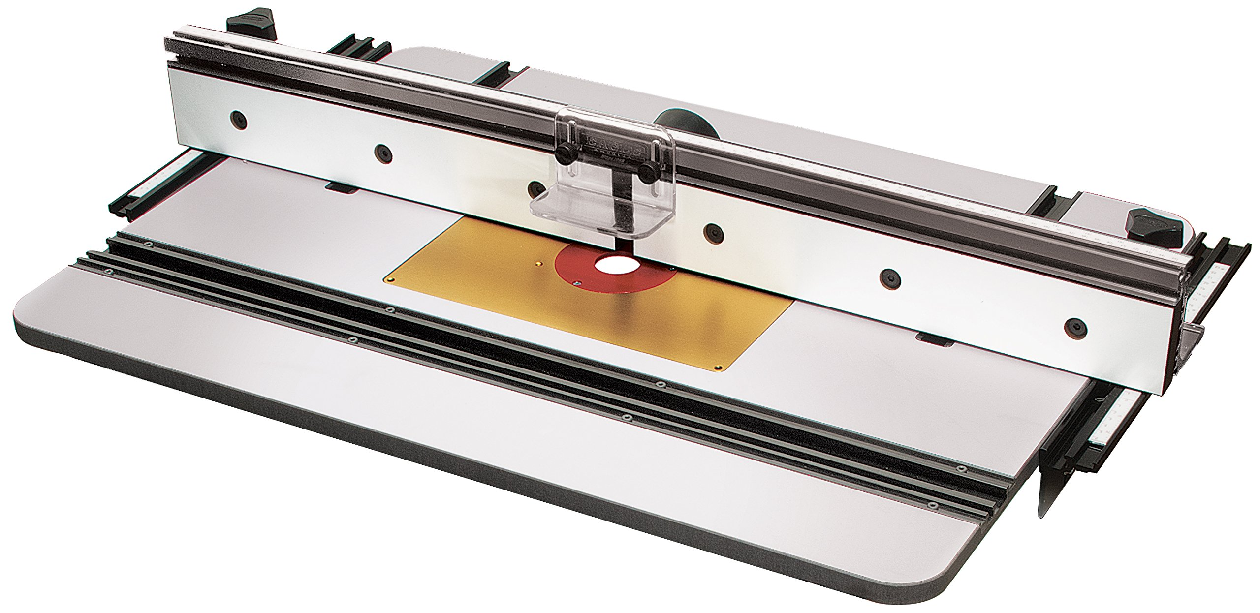 MLCS 9580 Phenolic Router Table Top, X1 Fence and Aluminum Insert Plate