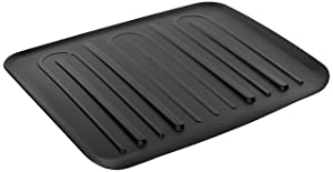 Rubbermaid 1182MABLA Large Black Drain-Away Tray