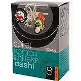 Spiral Foods Kombu Shiitake Dashi with Bonito Instant Miso 8 Sachets