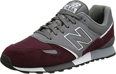 new balance burgundy homme